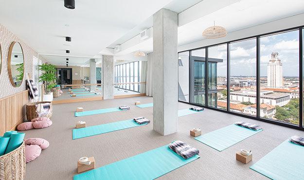 On-Site Yoga & Spin Studio